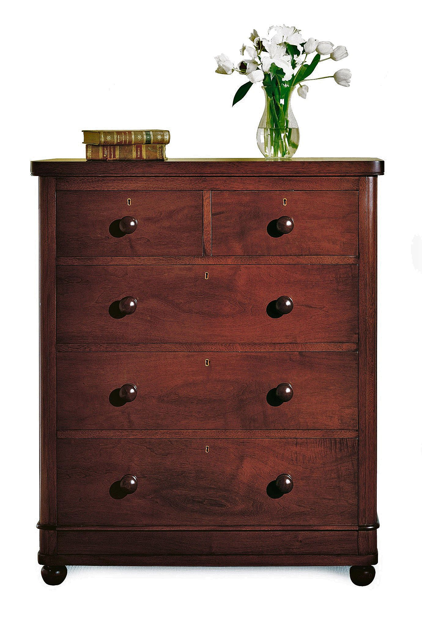 Classic Bedroom Chest Of Five Drawers