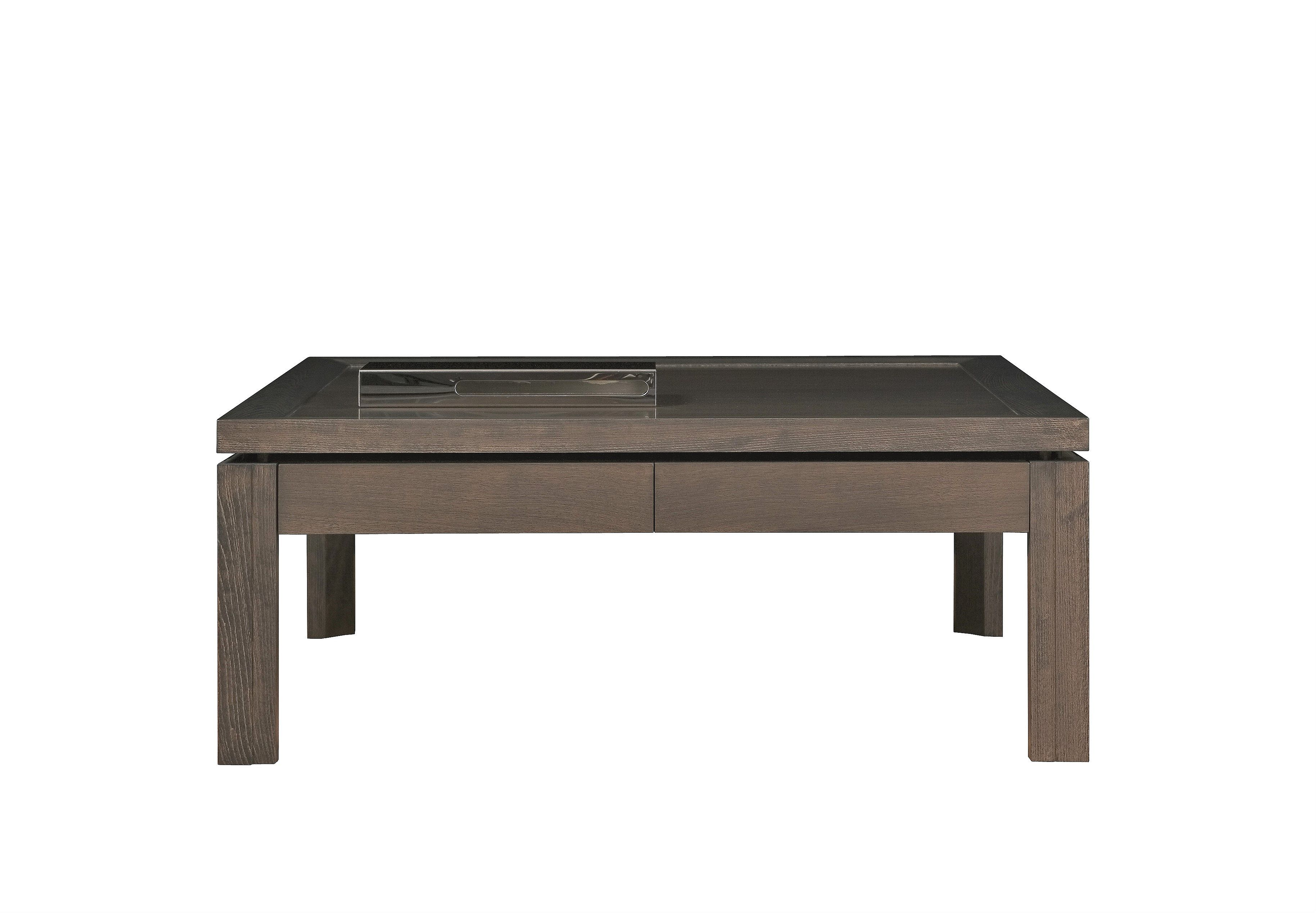 Contemporary Coffee Table Of Two Drawers