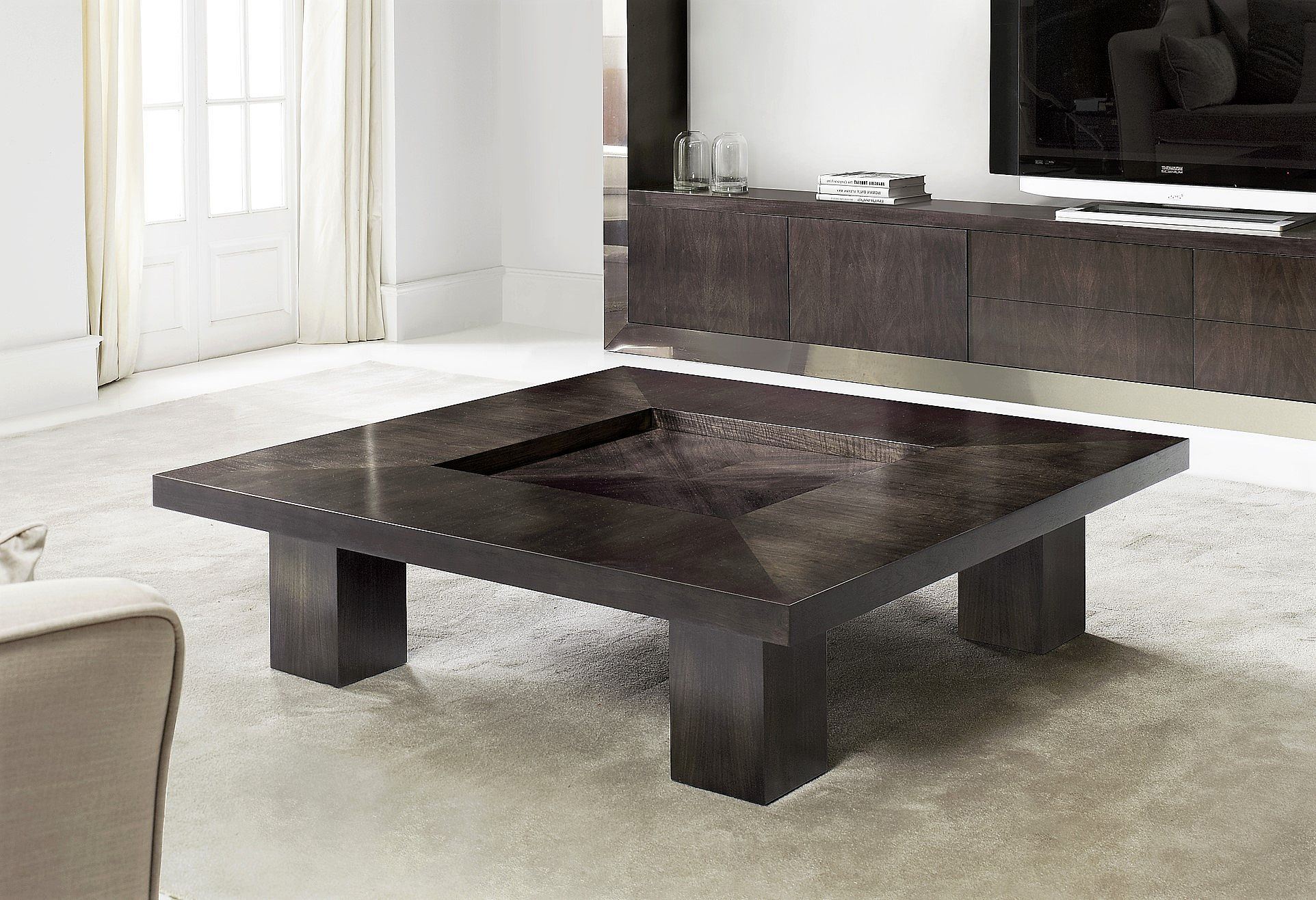 - Elegant Contemporary Coffee Table