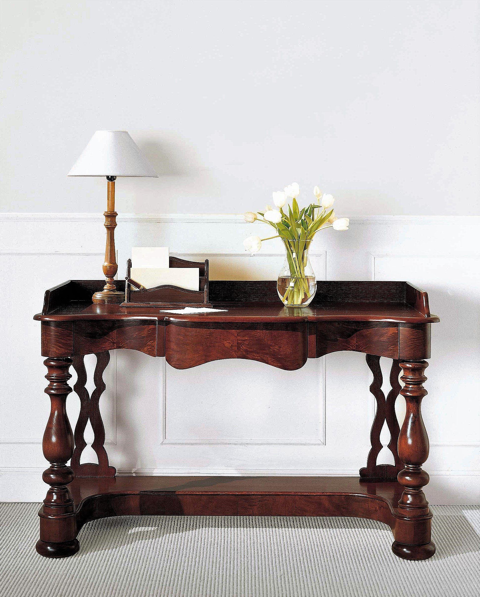 Mueble consola cl sica elegante alta decoraci n - Mesa escritorio clasica ...
