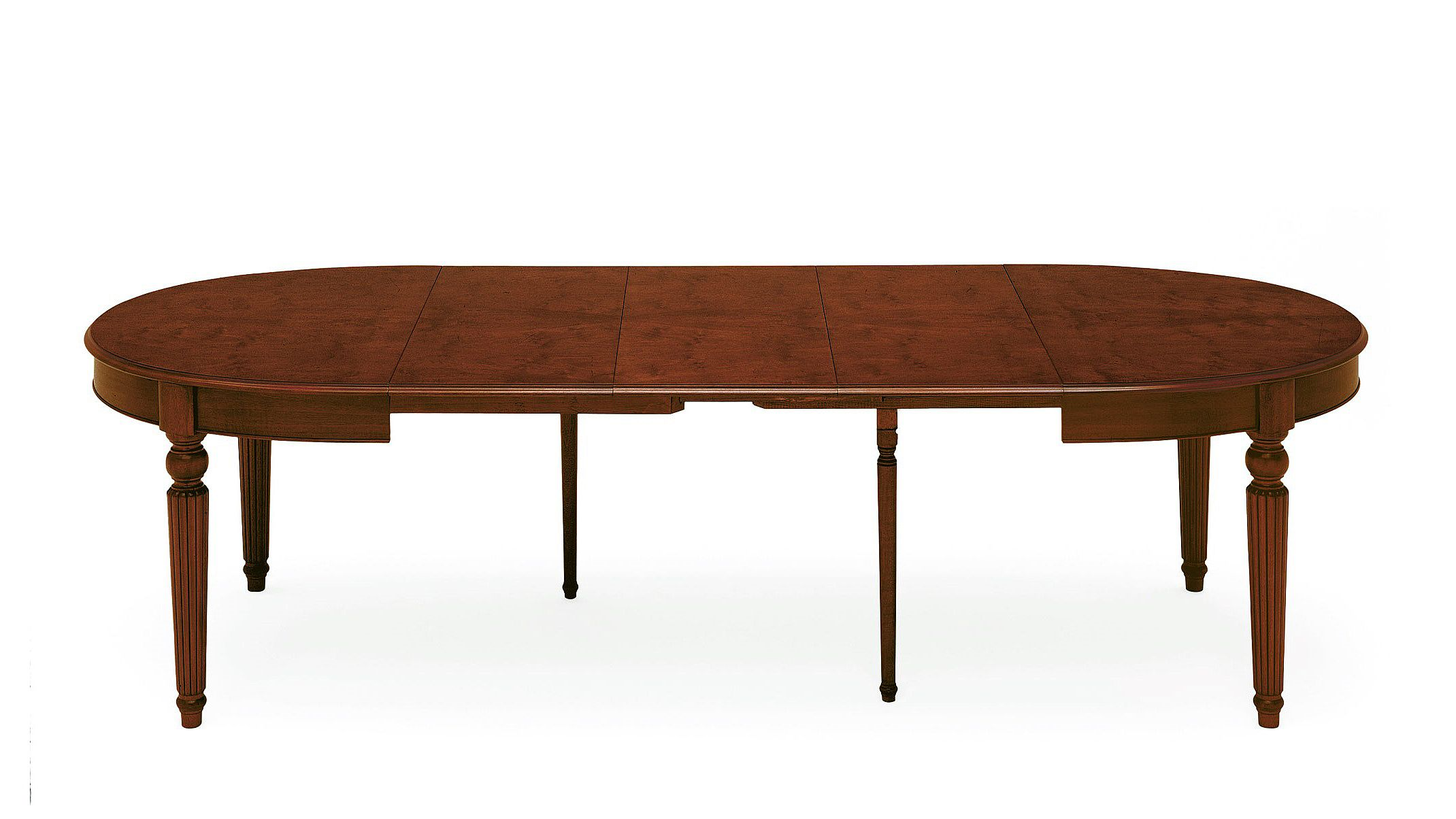 classic oval extendable dining table