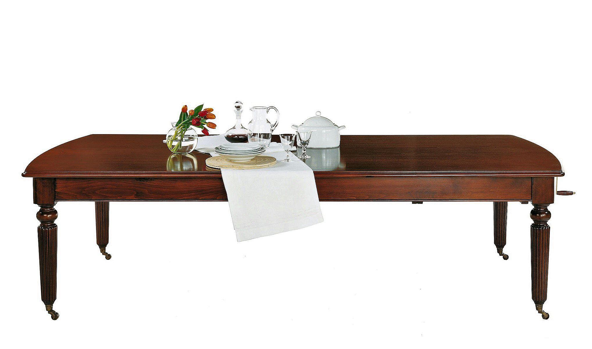 mesa comedor clásica y extensible, alta decoración