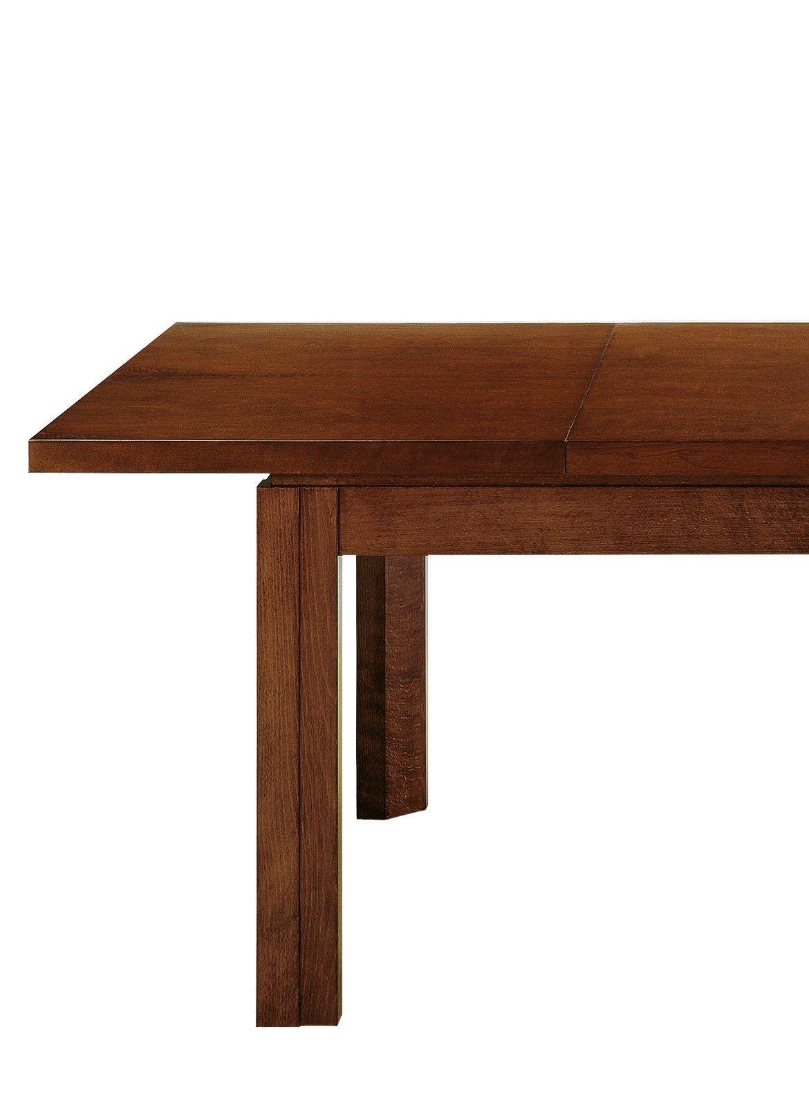 Mesa comedor en nogal extensible y con caj n alta decoraci n for Mesas de comedor jamar