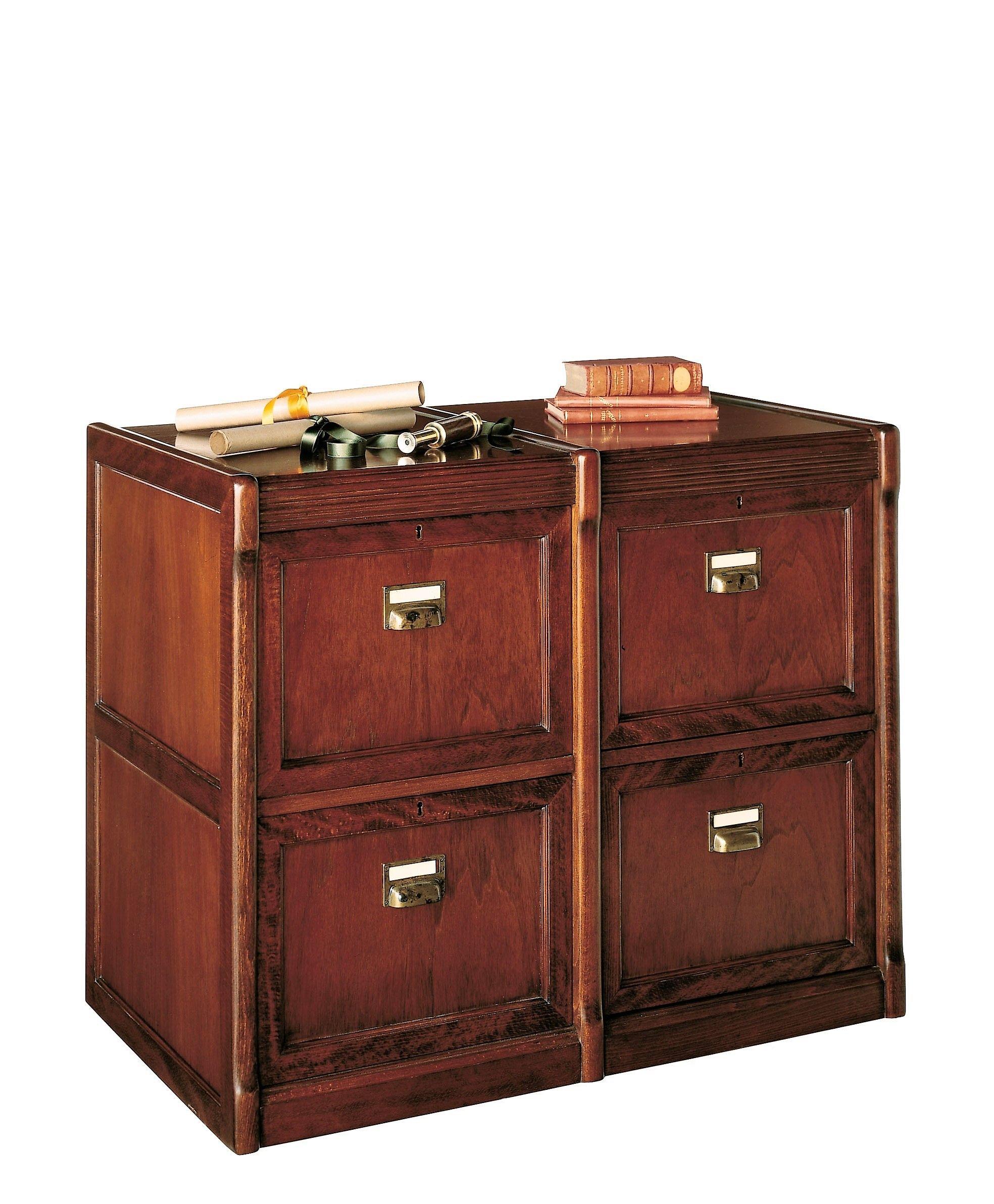 Mueble archivador horizontal clásico