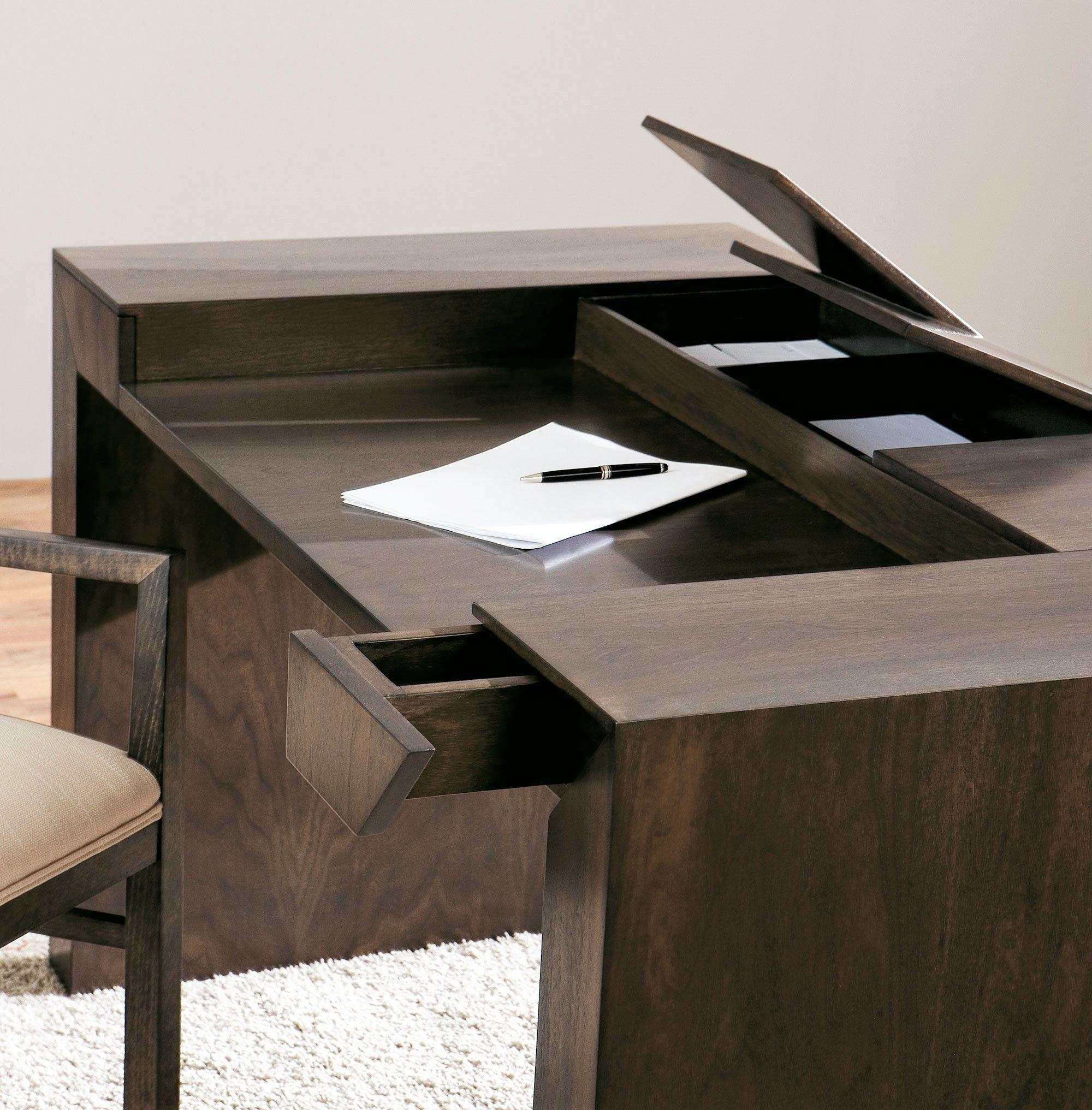 Escritorio con cajones secretos - Mesa escritorio con cajones ...