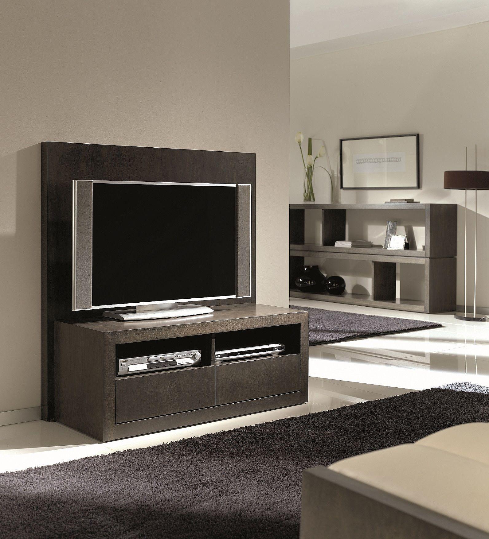 Mueble de televisi n con cajones y ruedas - Mueble tv con ruedas ...