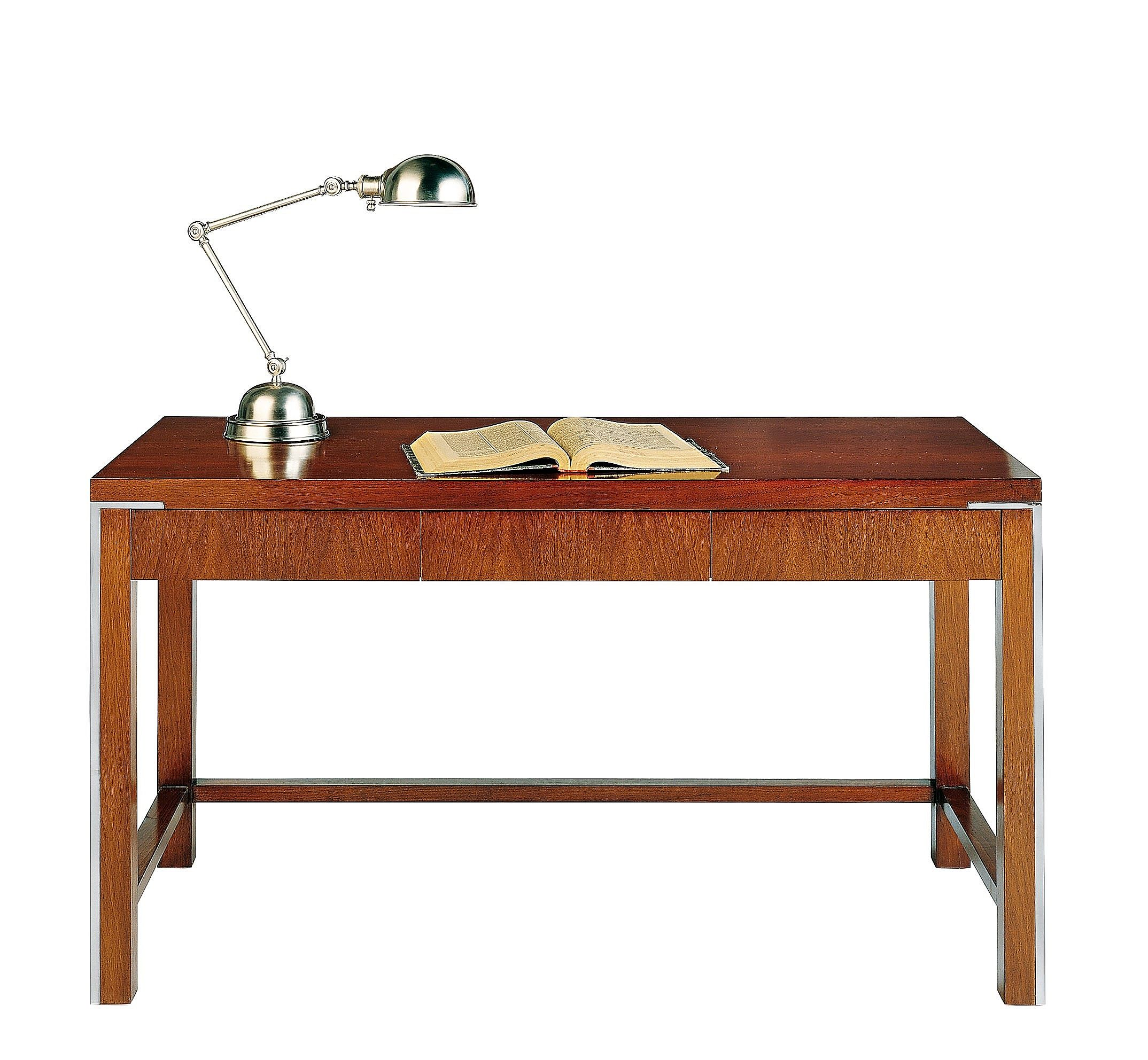 Desk With Stainless Steel Details T 762