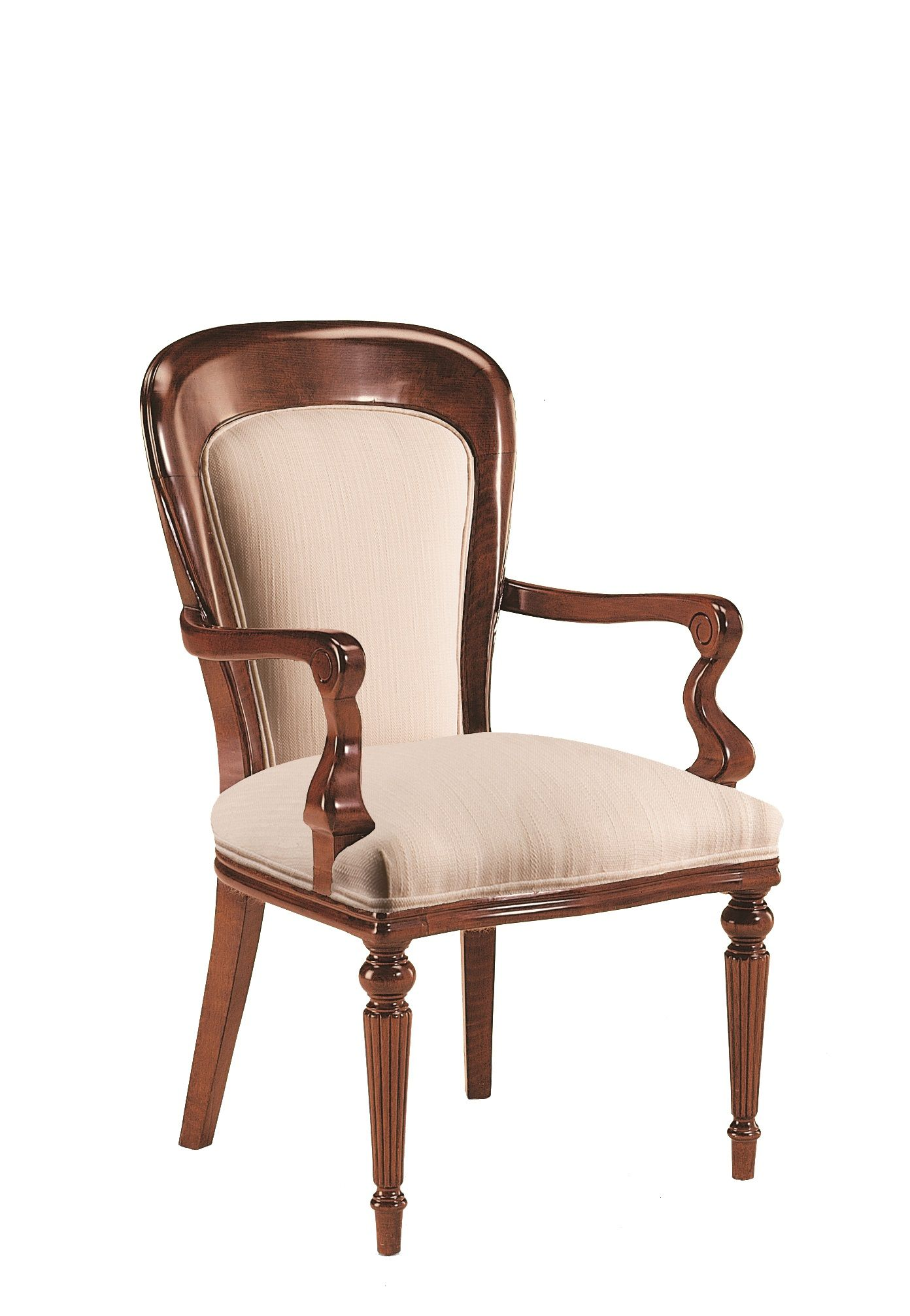 Sillón clásico de estilo victoriano